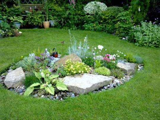 Rockery update july 10th 2012 grows on you for Garden design ideas short wide