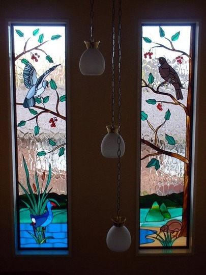 Flora Fauna In Stained Glass By Nz Artists Grows On You