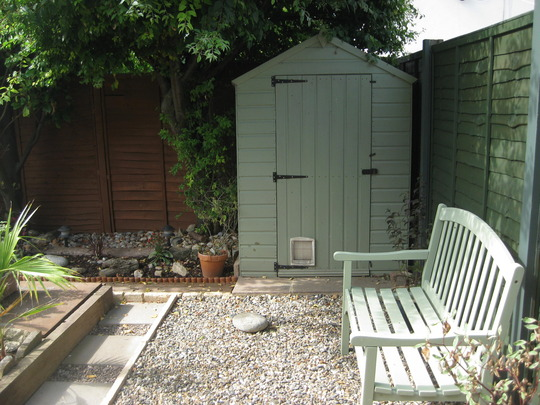 Small Garden Ideas Gravel garden re-design part 14,the last bitsupposedly. come for a