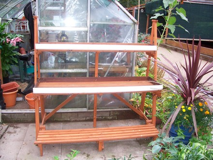 A Home Made 3 Tier Plant Stand Grows On You