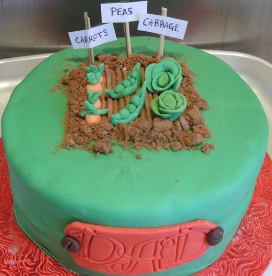 My Garden Birthday Cake Grows on You