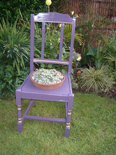 My rescued 'Garden' chair