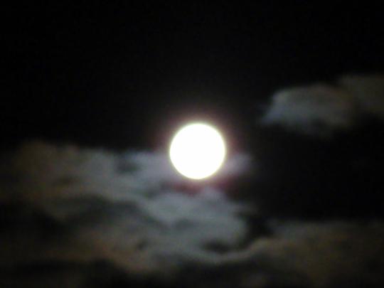 Last Nights Full Moon.