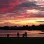 Sunset over Mudeford, Dorset 050809