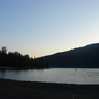 A view of Cultus Lake from ground level