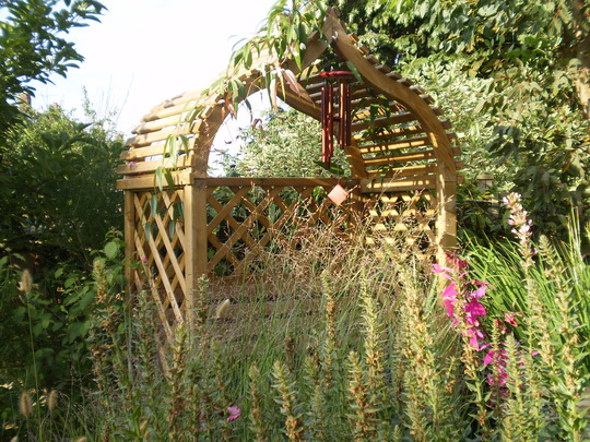 Arbour in high summer