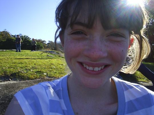 Me at Telford camp