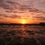 Sunset over Portsmouth Harbour/Port Solent