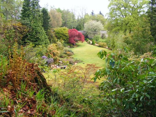 Kildrummy Castle Garden