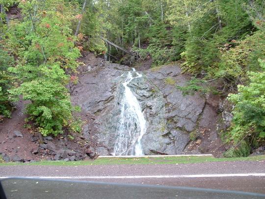 Jacobs Falls-Copper Harbor Michigan
