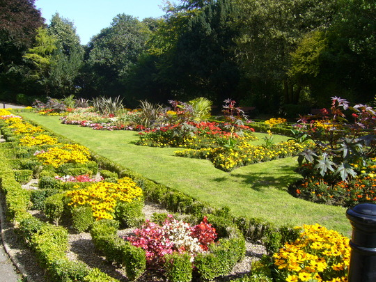 Italian gardens at Saltburn