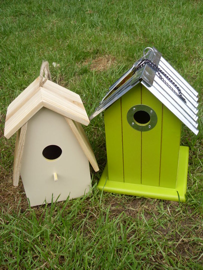 new bird houses