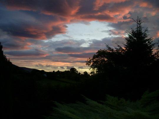 Sunset tonight