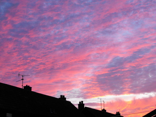 Sky From My Garden@7.10 this Eveing