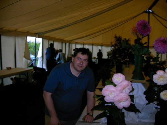 Me at a local Flower show - 2005 (Begonia)