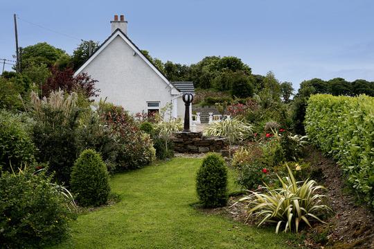 east view of garden