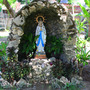 Grotto made out of natural granite rocks.