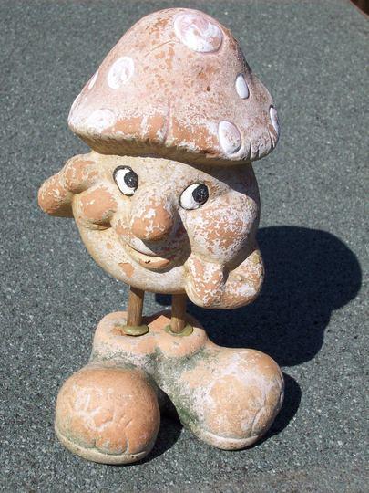 Flakey Mr Mushroom.....
