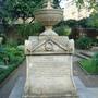 Admiral Bligh's tomb - Garden Museum, London