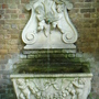 Fountain, Garden Museum, London