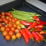 Todays Harvest, all is safely gathered in.