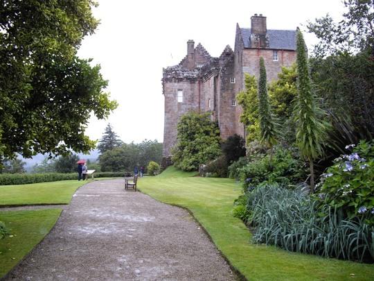 Brodick Castle, Isle of Arran, West Scotland