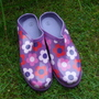 My new Gardening Clogs.........from Blog.........