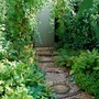 Re-vamped garden path.
