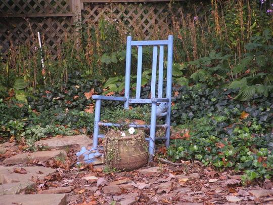 Yard Flower Chair