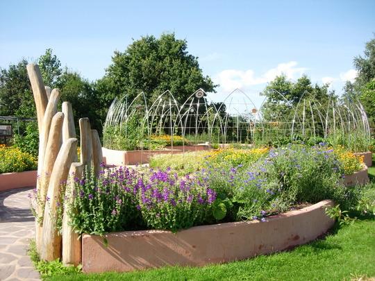 Biodynamic Garden at Garden Organic