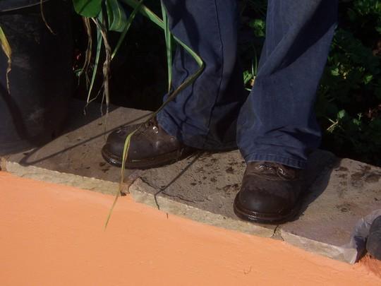 What do Garden Organic Gardeners wear on their feet?(3)