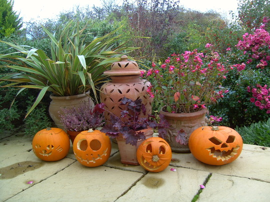 Pots and pumpkins