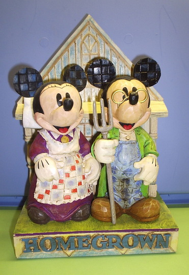 "Minnie and Mickey support ""Grow-Your-Own""."