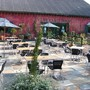 Patio ustwo designed and constructed, it was an old car parking area turned into a patio area for a Bistro. Please create an Italian enviroment for, Kent Vineyard