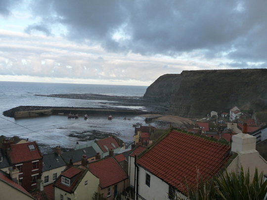 Staithes , North Yorks .