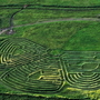Shot of Georgeson Botanical Garden Maze