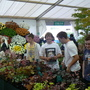 Teenagers at Hampton flower show 2009