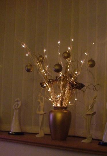 Twig Lights In Vase Vase And Cellar Image Avorcor
