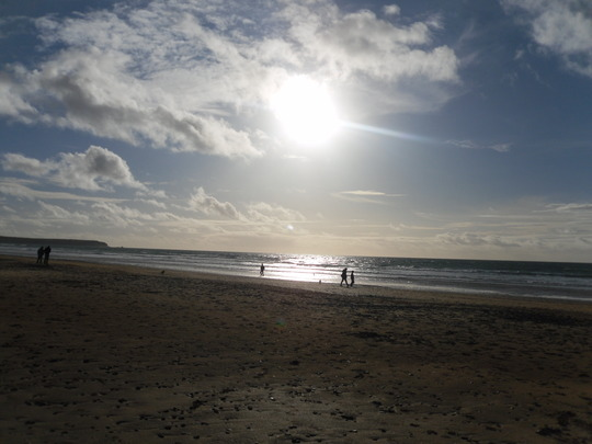 pembrokeshire on christmas day