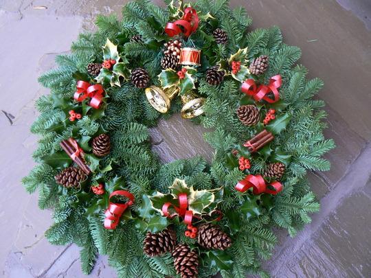 christmas wreaths that we make