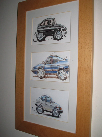 Pics of Caz's cars over the last 15 years!