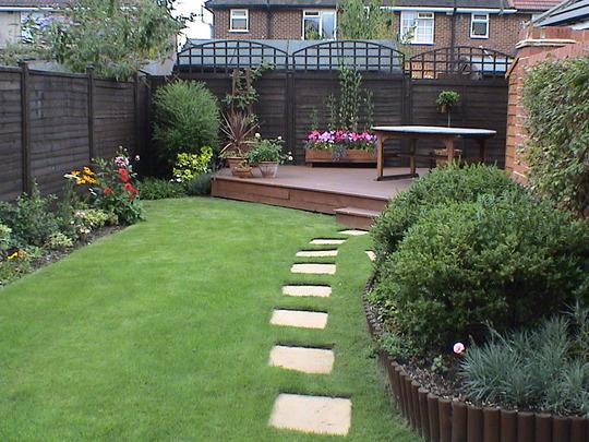 Our first garden (2004)
