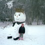 worlds biggest snowman and mia