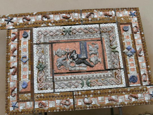 Roman Mosaic in France ......  For   TT