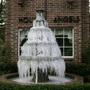 Iced fountain