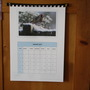 Home made calendar