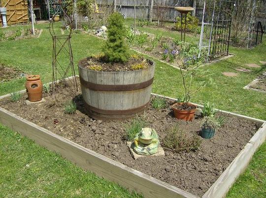 Herb Garden -  April 2008