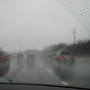 Highway 417, Ottawa, Canada...January 25, 2010