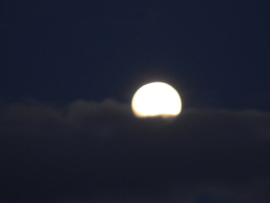 Beautiful Huge Moon tonight......