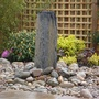 A granite water feature